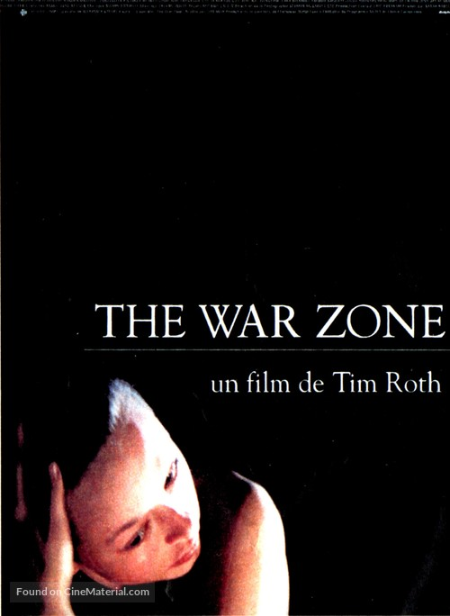 The War Zone - French Movie Poster