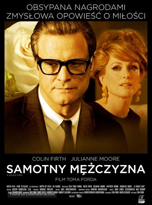 A Single Man - Polish Movie Poster