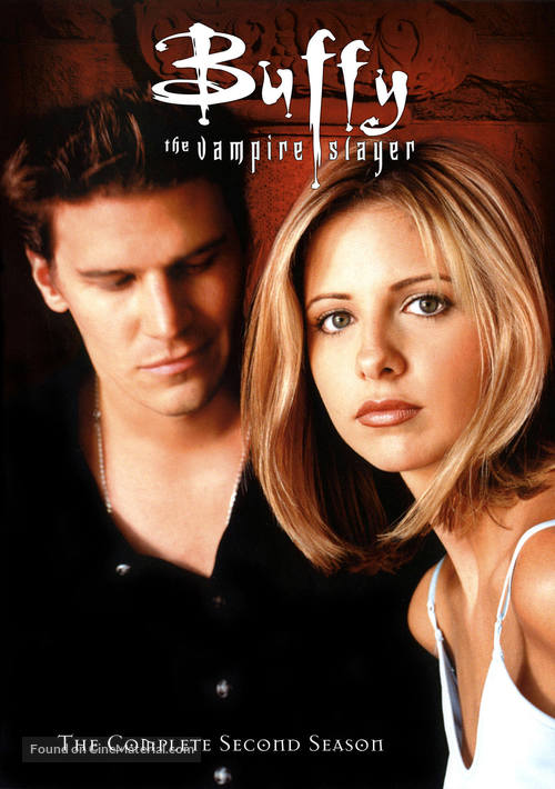 """Buffy the Vampire Slayer"" - DVD movie cover"