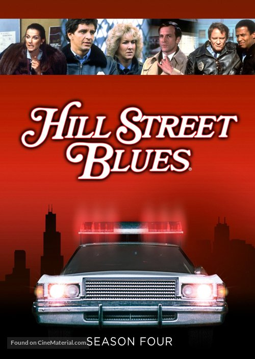 """""""Hill Street Blues"""" - DVD movie cover"""