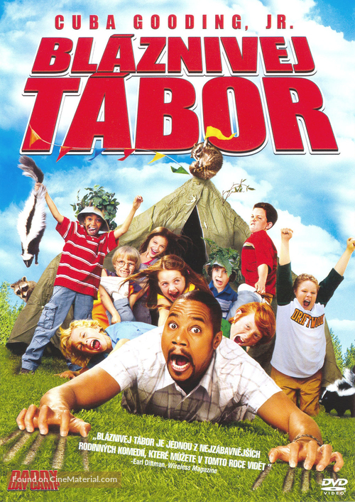 Daddy Day Camp - Czech DVD movie cover