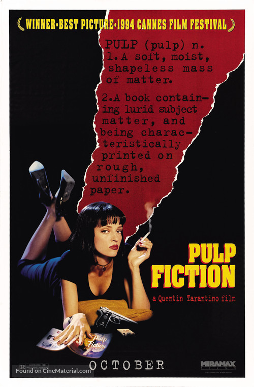 Pulp Fiction - Teaser movie poster