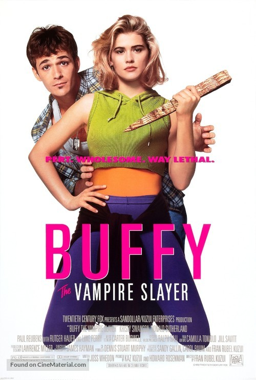 Buffy The Vampire Slayer - Movie Poster