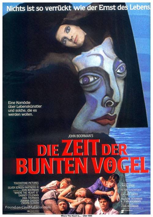 Where the Heart Is - German Movie Poster