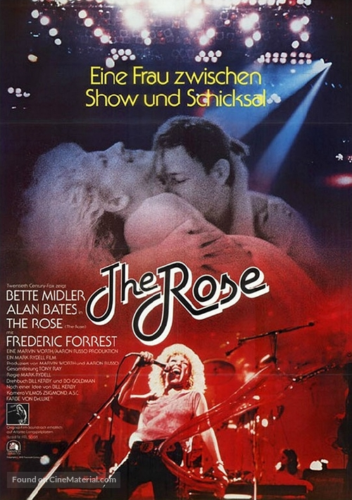 The Rose - German Movie Poster