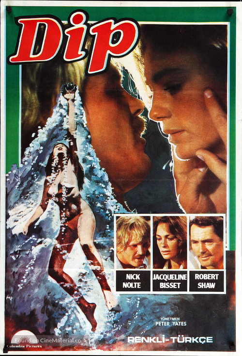 The Deep - Turkish Movie Poster