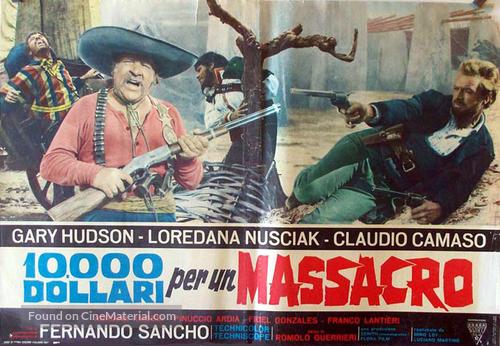 10.000 dollari per un massacro - Italian Movie Poster