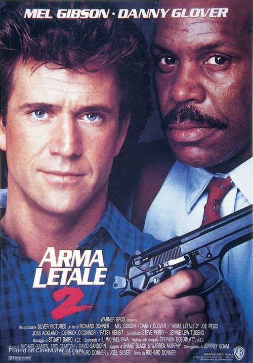 Lethal Weapon 2 - Italian Movie Poster