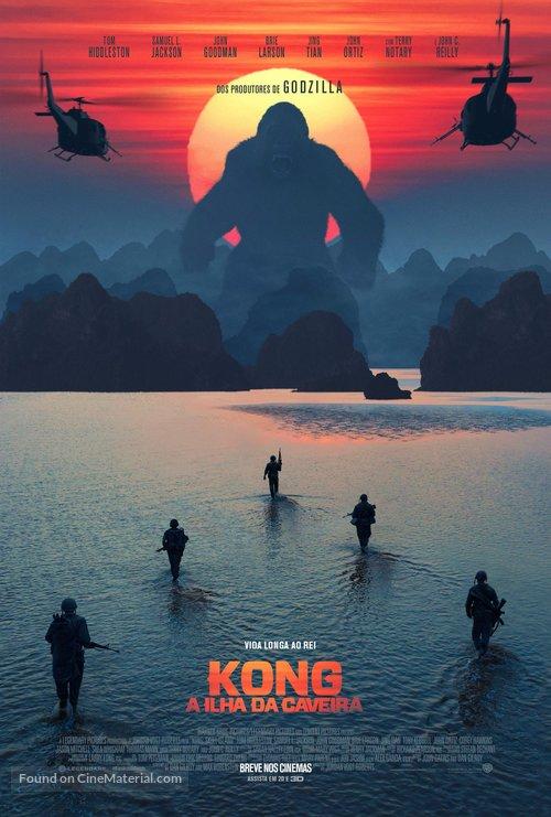 Kong: Skull Island - Brazilian Movie Poster