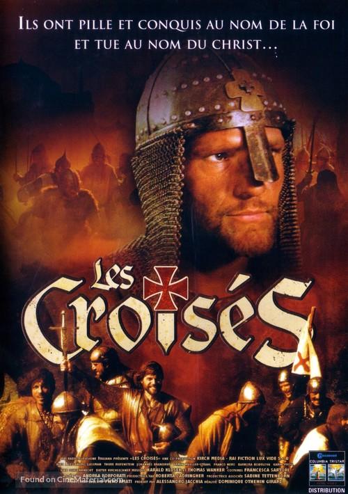 """Crociati"" - French DVD movie cover"