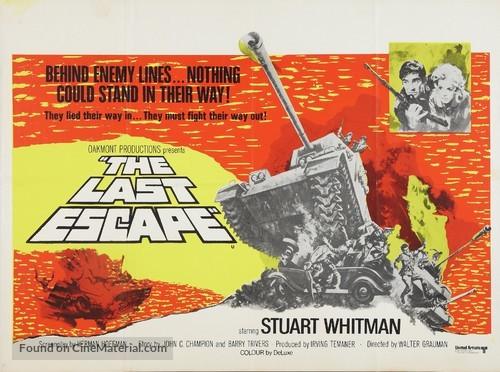 The Last Escape - British Movie Poster