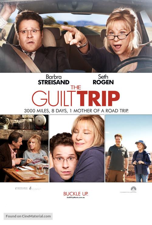 The Guilt Trip - Australian Movie Poster