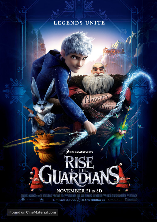 Rise of the Guardians - Movie Poster