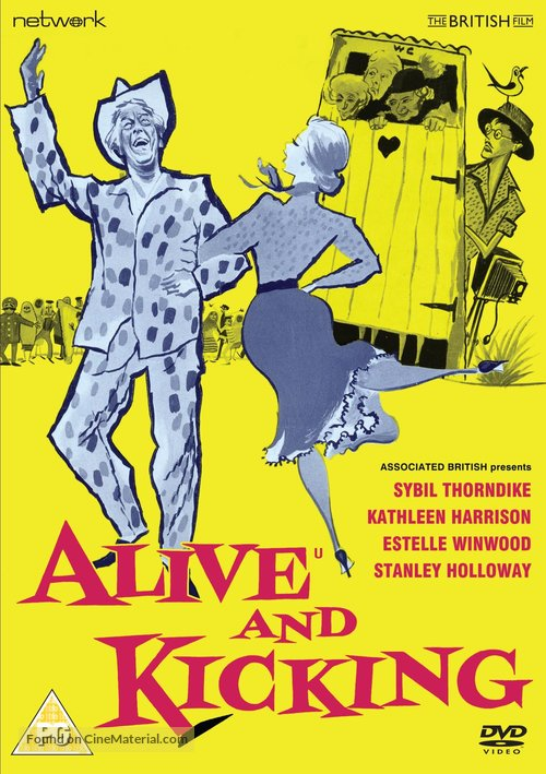 Alive and Kicking - British DVD movie cover