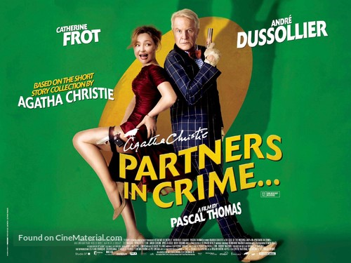 Associés contre le crime - British Movie Poster