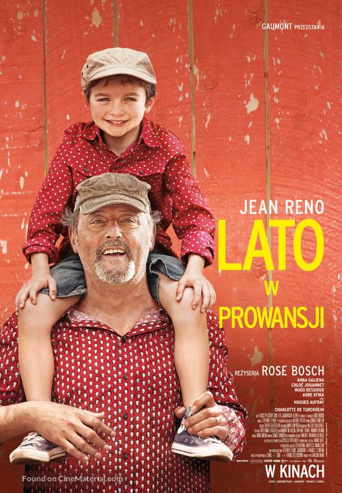 Avis de mistral - Polish Movie Poster