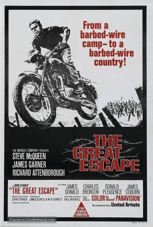 The Great Escape - Australian Movie Poster
