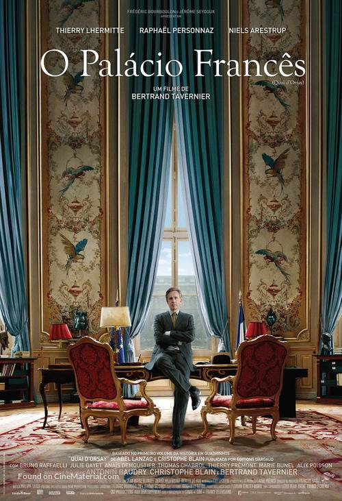 Quai d'Orsay - Brazilian Movie Poster