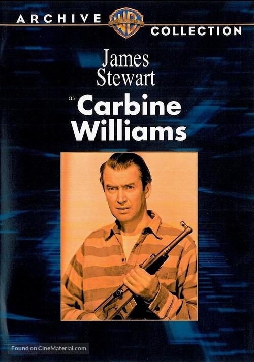Carbine Williams - DVD movie cover