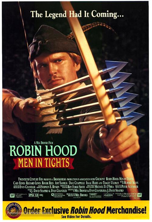 Robin Hood: Men in Tights - Movie Poster