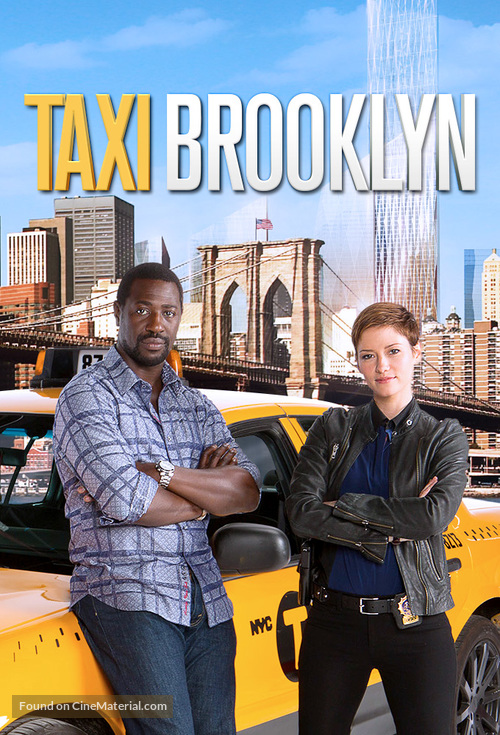 """""""Taxi Brooklyn"""" - Movie Poster"""