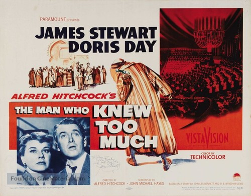 The Man Who Knew Too Much - Movie Poster