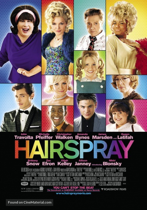Hairspray - Australian Movie Poster