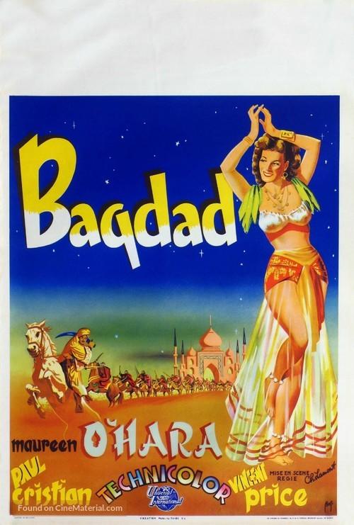 Bagdad - Belgian Movie Poster