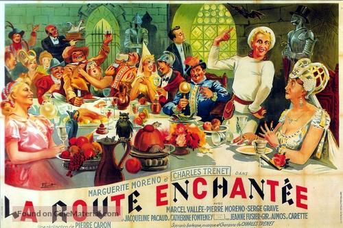 La route enchantée - French Movie Poster