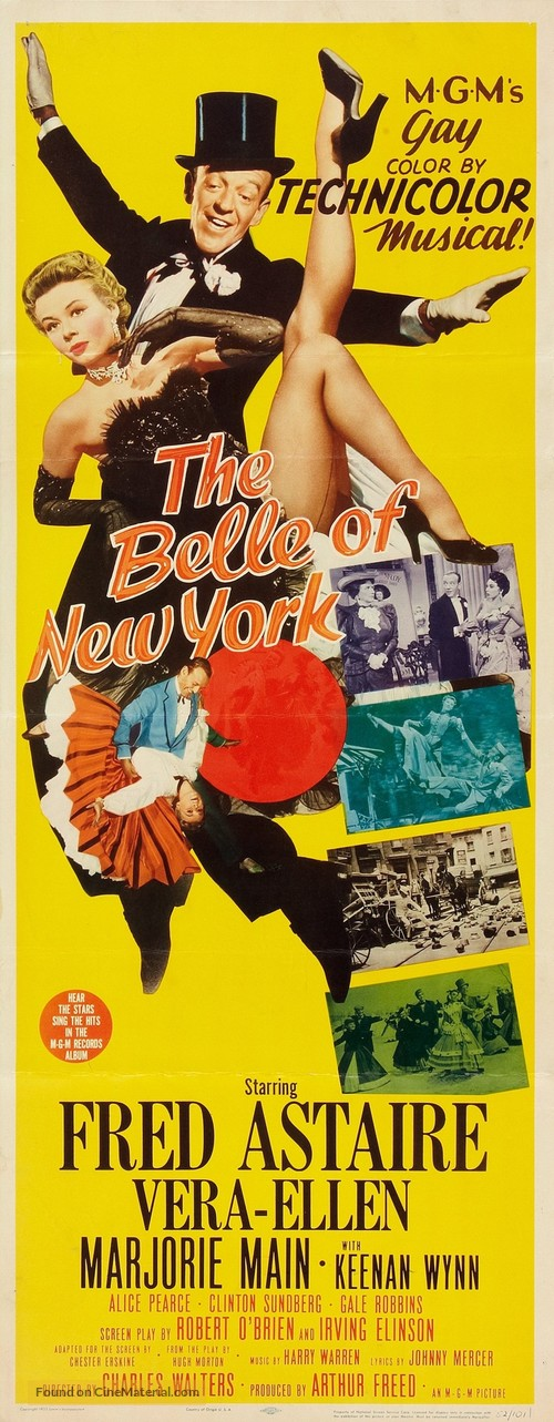 The Belle of New York - Movie Poster