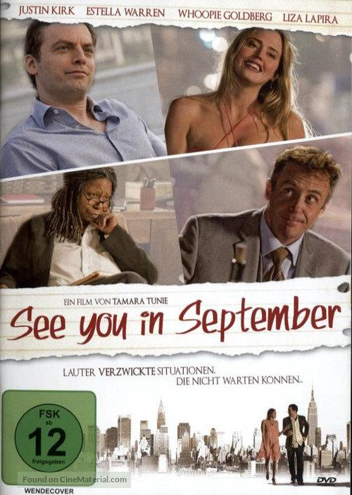 See You in September - German Movie Cover