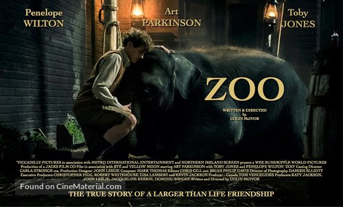 Zoo - British Movie Poster