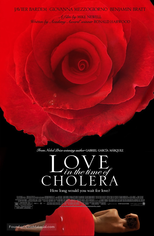 Love in the Time of Cholera - Movie Poster