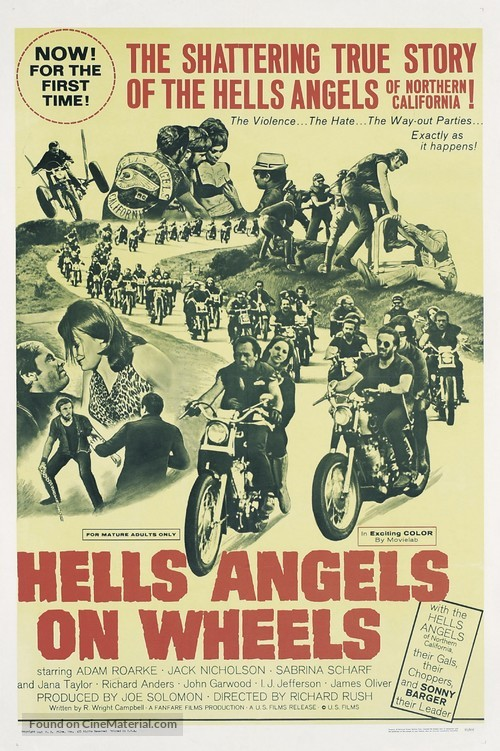 Hells Angels on Wheels - Movie Poster