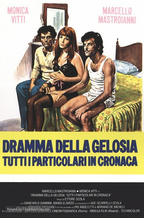 Dramma della gelosia - tutti i particolari in cronaca - Italian Movie Poster