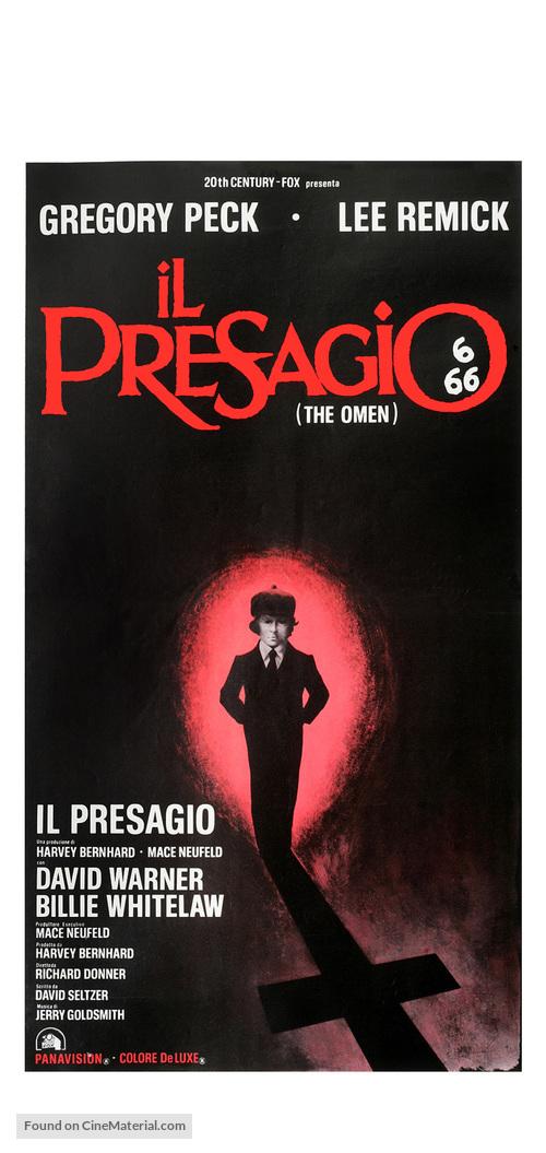 The Omen - Italian Movie Poster
