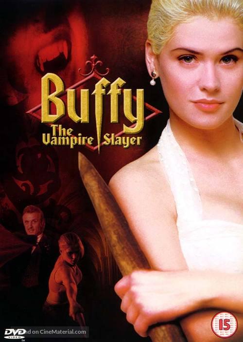 Buffy The Vampire Slayer - British DVD movie cover