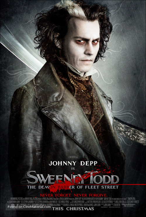 Sweeney Todd: The Demon Barber of Fleet Street - Movie Poster
