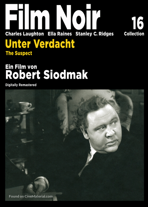 The Suspect - German Movie Cover