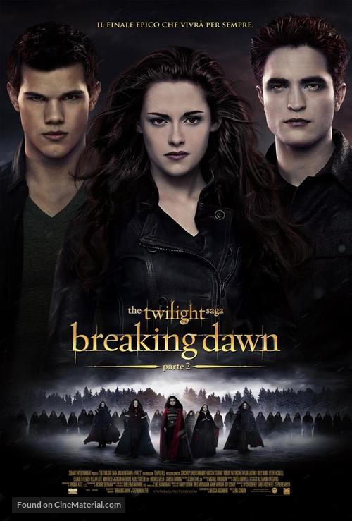 The Twilight Saga: Breaking Dawn - Part 2 - Italian Movie Poster