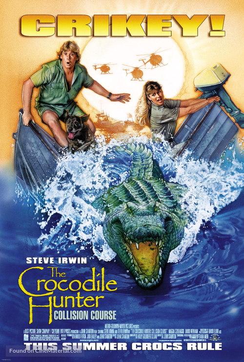 The Crocodile Hunter: Collision Course - Movie Poster