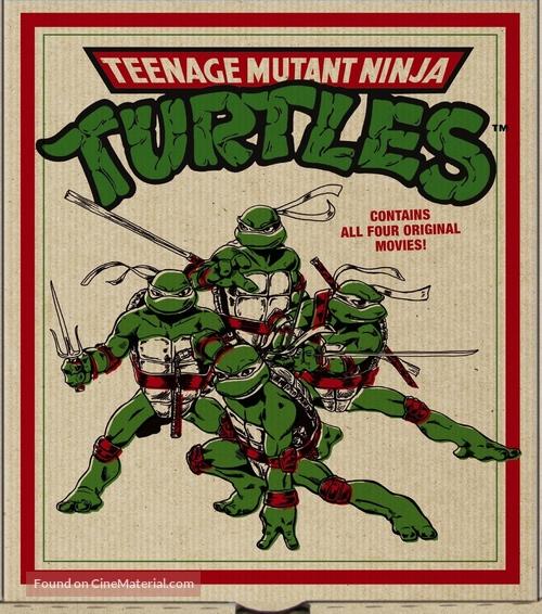Teenage Mutant Ninja Turtles III - Blu-Ray cover