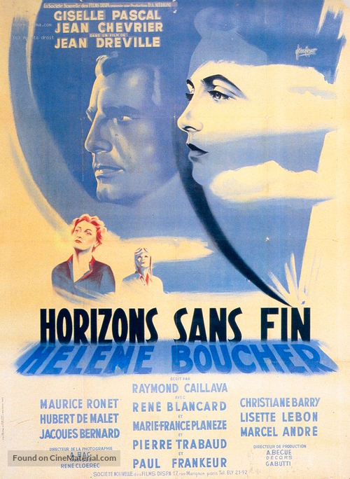 Horizons sans fin - French Movie Poster