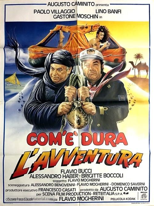 Com'è dura l'avventura - Italian Movie Poster