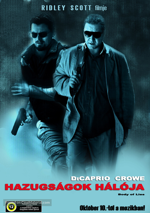 Body of Lies - Hungarian Movie Poster