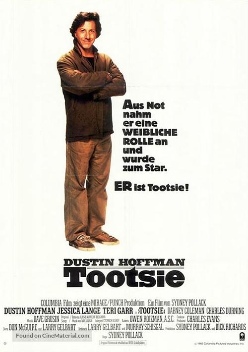 Tootsie - German Movie Poster