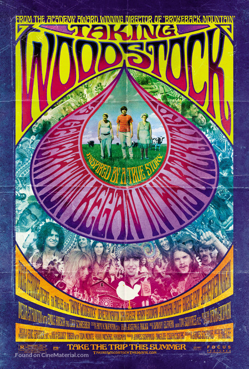 Taking Woodstock - Movie Poster