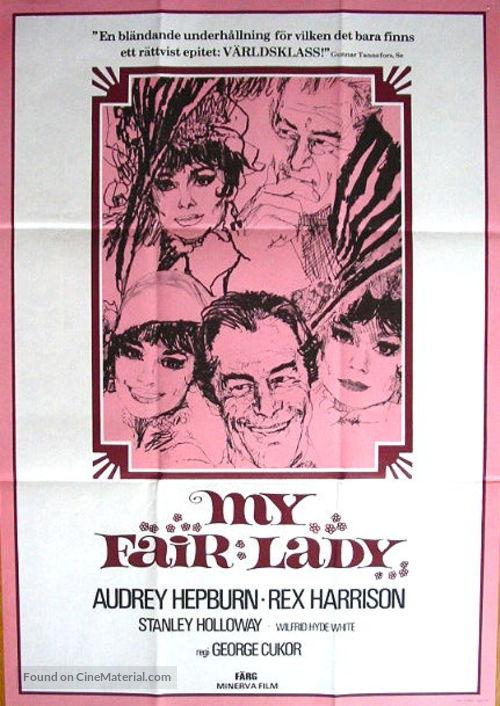 My Fair Lady - Swiss Movie Poster