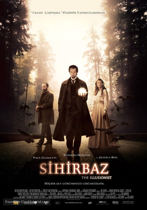 The Illusionist - Turkish Movie Poster