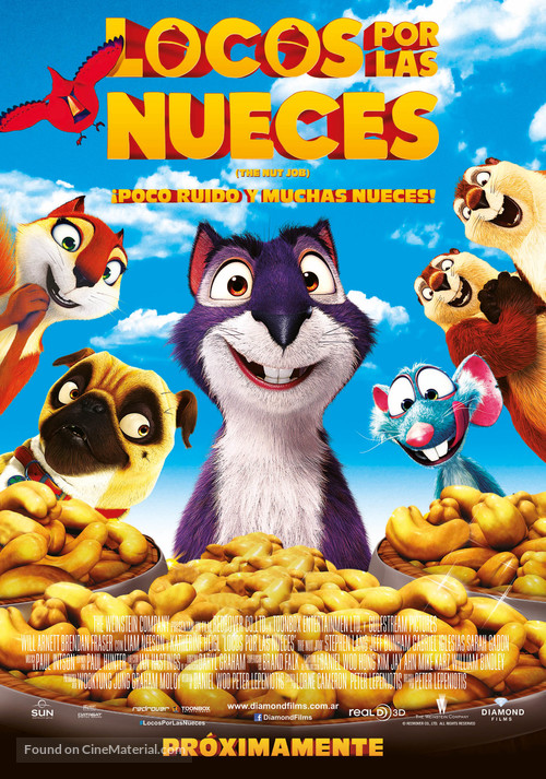 the nut job argentinian movie poster